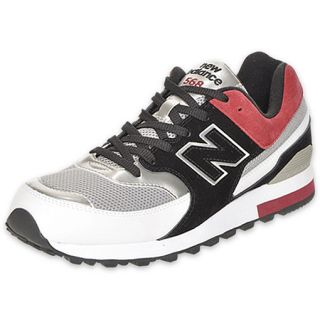 New Balance Mens 568 Running Shoe Black/Red