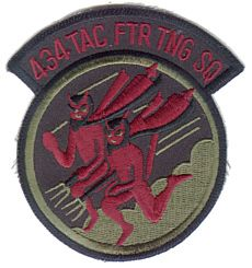 US Air Force Patch 434th Tactical Fighter Training Sq