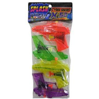 Splash Cyber X 58 Squirt Guns 4 Pk   Case Pack 24 SKU