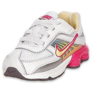 Nike Toddler Shox Turbo VIII Running Shoe White