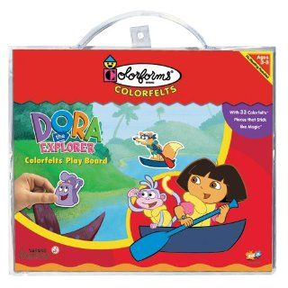 Colorfelts Play Boards   Dora the Explorer Toys & Games