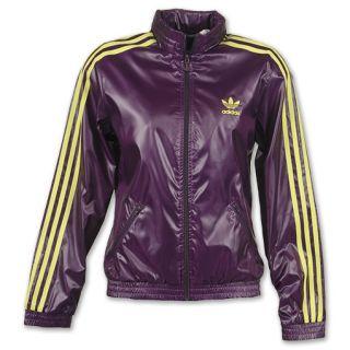 adidas Womens adi Windbreaker Jacket Purple