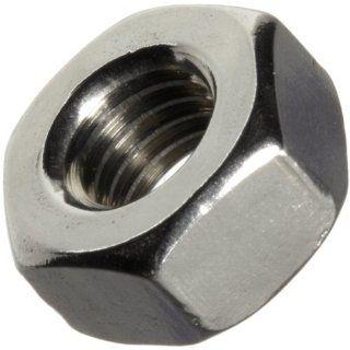 ASME B18.6.3 Plain 18 8 Stainless Steel Machine Screw Hex Nut, #2 56