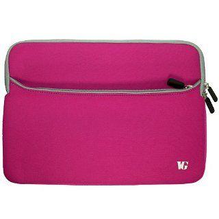 Magenta Durable Neoprene Protective Laptop Sleeve Cover