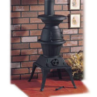 Clarke Potbelly Large Cast Iron Stove