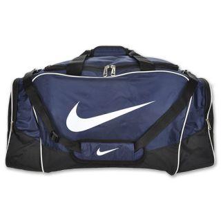 Nike Brasilia 4 Large Duffel Bag Midnight Navy