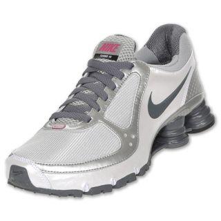 Nike Womens Shox Turbo+ 10 Running Shoe Silver