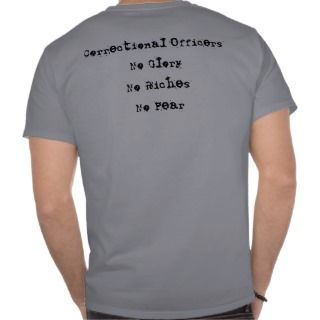 Correctional Officers shirt