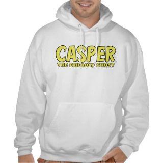 Casper the Friendly Ghost Yellow Logo Pullover