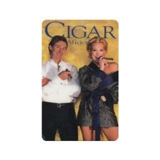 Collectible Phone Card Mr. & Mrs. Wayne Gretzky   Cigar