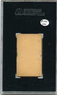 1916 Big Head Strip Card SGC Frank Home Run Baker