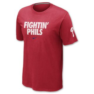 Nike MLB Philadelphia Phillies Mens Tee Shirt Red