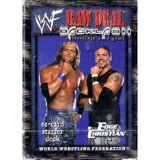 Game Edge and Christian Tag Team 61 Card Starter Deck: Toys & Games