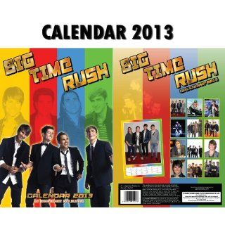 BIG TIME RUSH 2013 CALENDAR BY DREAM + FREE BIG TIME RUSH