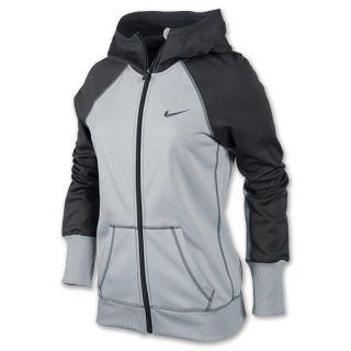 Nike All Time Full ZIp Womens Hoodie Wolf Grey