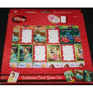 Disney Valentine Card Games   24 in All Toys & Games