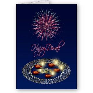 Festive Diwali   Greeting Card