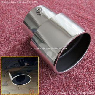 Chrome Exhaust Muffler Tips Pipes for Honda Accord 2008 2011 2012