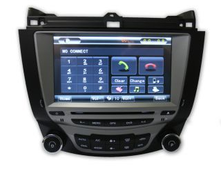 TLN Autoparts Honda Accord 03 07 GPS Navigation Radio