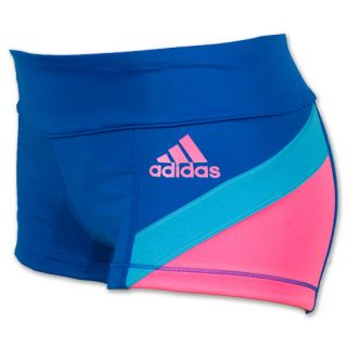 adidas Clima Power Short Womens Tights Blue