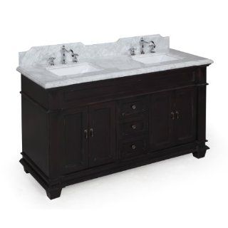 bathroom vanities on elizabeth 60 inch solid wood bathroom vanity