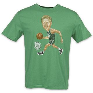 adidas Boston Celtics Larry Bird Tee Green