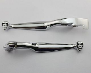 Chrome Brake Clutch Levers for Honda Shadow 600 Shadow 750 Shadow 1100