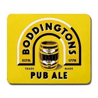 Boddingtons English Pub Ale Beer LOGO mouse pad