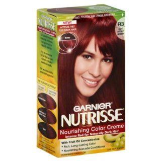 Garnier Nutrisse Haircolor, R3 Light Intense Auburn