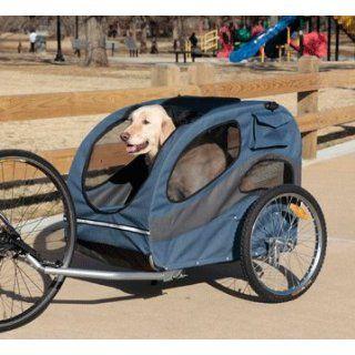 Solvit 62341 HoundAbout Bicycle Pet Trailer, Large Pet
