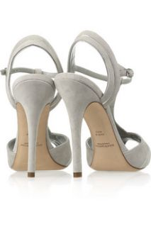 Ralph Lauren Collection Jalie suede T bar sandals   52% Off