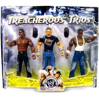 WWE Wrestling Exclusive Series 9 Treacherous Trios Action