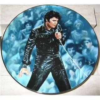 Delphi Elvis 68 Comeback Special Collector Plate