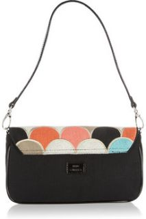 Lulu Guinness Anna Small embroidered canvas bag   65% Off