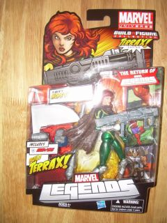 Hasbro Marvel Universe Legends Hope Summers Action Figure 2 BAF Terrax