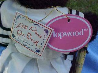 Rare Hopwood Jr Muffy Vanderbear Family & Friends Black Hoppy All Paws