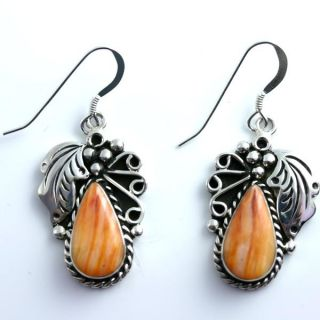 Native American Jewelry Spiny Oyster Earrings