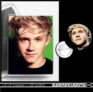 Niall Horan Magnet Button or Magnet Pin One Direction Locker 1501