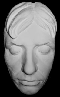 Lord Horatio Nelson RARE Life Mask Life Cast Finished in Natural White