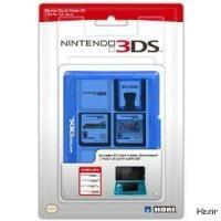 DS DSi XL Lite 24 Cartridge Game Card Case Hori Clear Blue New