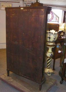 Antique Oak China Curio Cabinet R J Horner Company