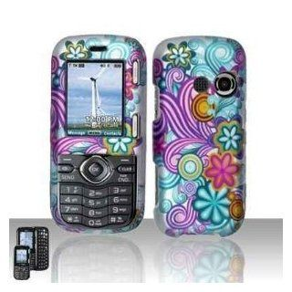 FLOWER SWIRLS Phone Cover Hard Case LG Cosmos Rumor 2