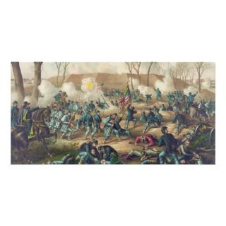 American Civil War Battle of Fort Donelson 1862 Photo Card Template