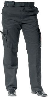Black EMT EMS Womens 9 Pocket Paramedic Uniform Pants