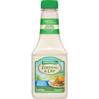 Hidden Valley for Everything Topping and Dip, Original Ranch, 12 Ounce