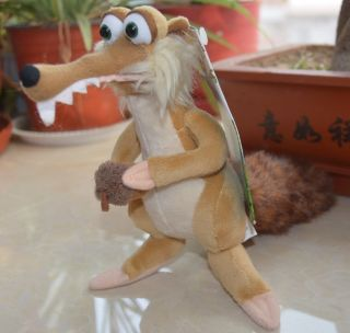Amusing Ice Age 3 Scrat Stuffed Plush Hot Movie Iamge Toy