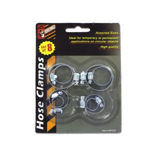 New Wholesale Case Lot 48 8 Piece Hose Clamps Clasps Tools