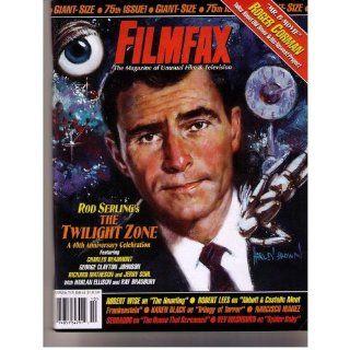 FILMFAX #75 76 MAGAZINE (Oct 1999)(ROD SERLING TWILIGHT ZONE COLOR