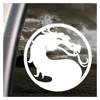 MORTAL KOMBAT DRAGON Decal Car Truck Window Sticker