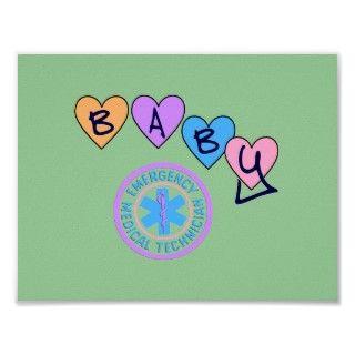 Estrella del bebé de EMT de la vida Posters de